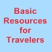 Basic Resources for Travelers navigation icon - 75 x 75