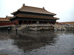 The Forbidden City's Palace of Heavenly Purity, Beijing, China