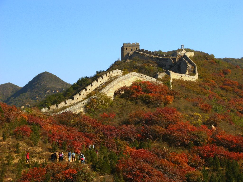 China Tourist Attraction The Great Wall Of China