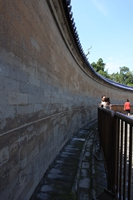 Echo Wall at the Temple of Heaven in Beijing, China