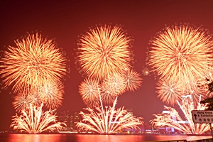 Chinese New Year 2011 - Hong Kong fireworks - N.C. Burton - small - 300 x 200