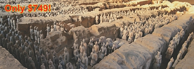 EBNX - Imperial Pearls of China Tour header image - Terracotta Warriors