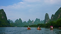 Guilin - Li River rafts - Christopher - 213 x 120