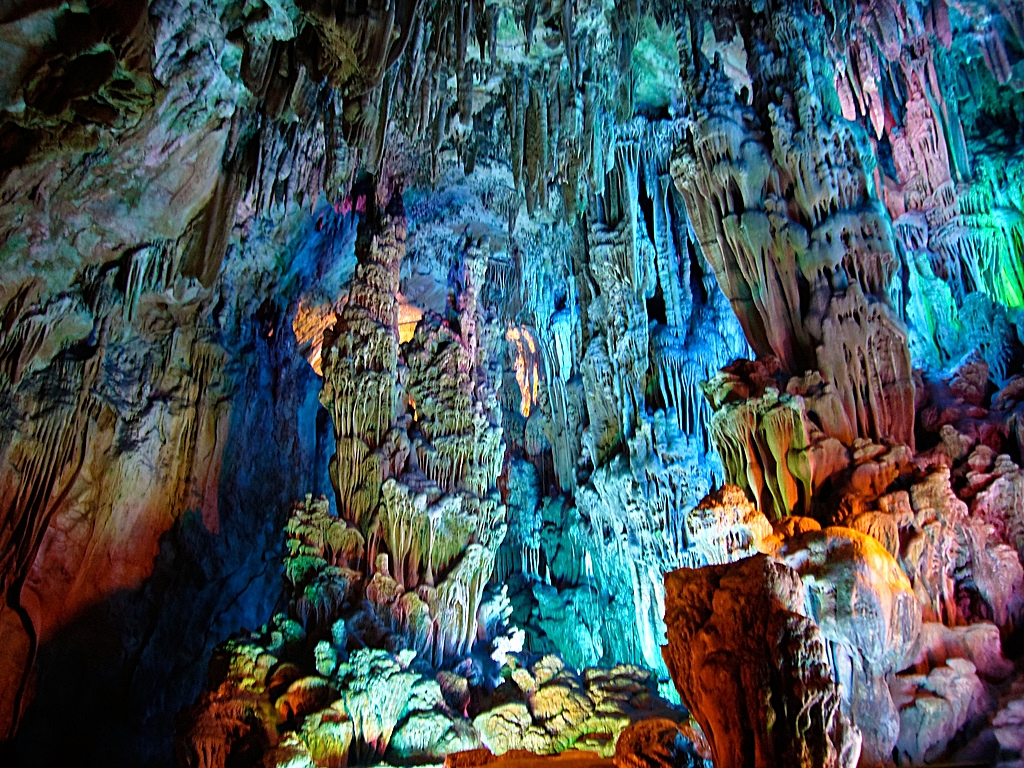 reed flute caves in guilin reed flute caves in guilin