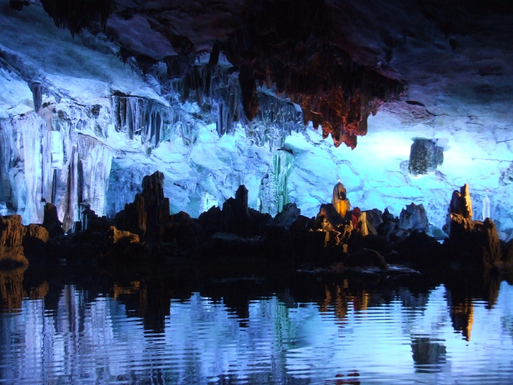 reed flute cave guilin photo by robin poll reed flute cave