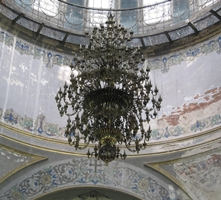 A chandelier in St. Sophia Cathedral, Harbin, China