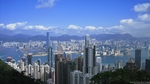 view of Victoria Harbour and downtown Hong Kong from Victoria Peak - desktop wallpaper - 1280×720 - thumbnail