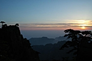 Huangshan (Yellow Mountain) - sunrise - Philip Lai - 180 x 120