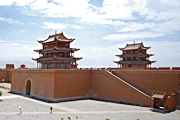 Jiayuguan - Great Wall fortress 2 - Kevin Hale - 180 x 120