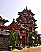 Kaifeng - Memorial Hall of Lord Bao - Kevin Poh - 144 x 180