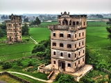 A 'diaolou' building in Kaiping, China