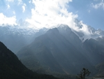 Lijiang - Jade Dragon Snow Mountain - crepuscular rays - desktop wallpaper - 1600×1200 - thumbnail
