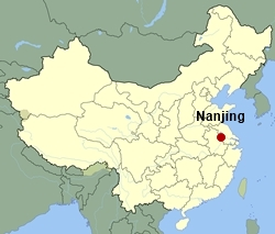 Nanjing Photos And Information China International Travel CA - Nanjing map