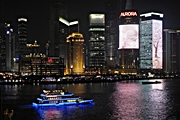 Shanghai - Pudong - Huangpu - night - Curt Smith - 180 x 120