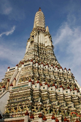 The Temple of the Dawn (Wat Arun) in Bangkok, Thailand