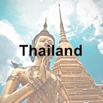 Thailand icon with text - 150 x 150