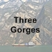 Three Gorges icon with text - 75 x 75