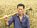 A farmer in Wuxi, one subject of Tom Carter's China - Portrait of a People