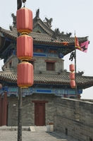 A small watchtower on the City Walls in Xi'an (西安), China