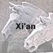 Xi'an icon with text - 75 x 75