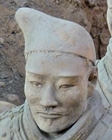 Xian - terracotta soldier - face - closeup - CIT - 112 x 140