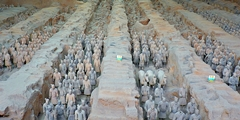 Xi'an - terracotta soldiers - main pit - CIT - 240 x 120