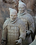 Xi'an - terracotta soldiers - portrait - CIT - 128 x 160