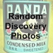 random discovery photos icon with text - 75 x 75