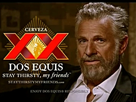 The man Dos Equis claims is the most interesting man in the world